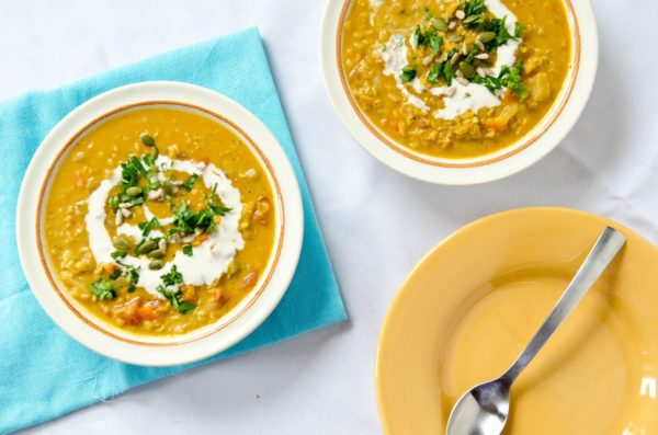 Curried Coconut Lentil Stew