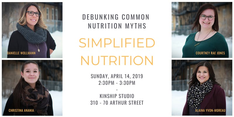 Simplified Nutrition: Debunking common nutrition myths
